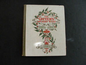 The Cotter's Saturday Night by Robert Burns (Hard Cover)
