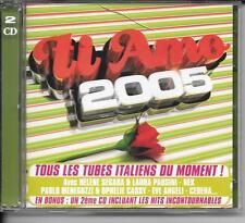 2 CD COMPIL 32 TITRES--TI AMO 2005--NEK/CERENA/MENEGUZZI/PAUSINI/CELENTANO