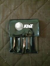 Vintage AT&T Mini Tool Set - Hammer, Screwdrivers, & Wrench in AT&T Pouch