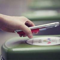 Universal Telefon-Kartenhalter Handytasche Kleber-Aufkleber Elastisch