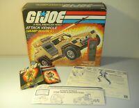 Lot 1984 GI Joe Vamp Mark II Box Blueprints Clutch v2 File Card Set *NO JEEP*
