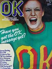 OK MAGAZINE 17TH MAY 1975 - STEVE HARLEY - SMOKIE