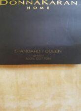 New Donna Karan Atmosphere Collection Gold Standard Queen Pillow Sham