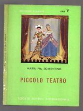 PICCOLO TEATRO di Maria Pia Sorrentino