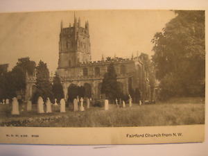 Fairford Church from N.W., Gloucestershire