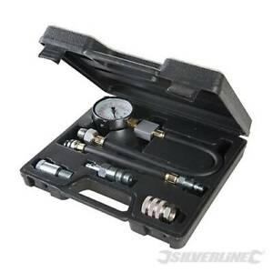 Silverline Petrol Engine Compression Testing Kit 5pce 5pce -598559