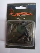 Radical Quantum Carp Rig Safety Clips black pack of 10