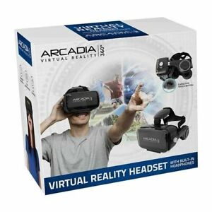 Arcadia VR Headset For iPhone Android Windows Premium Virtual Reality 360 HD