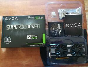 EVGA GTX 1070 superclocked 8gb