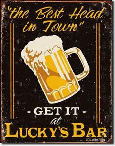 Bier Schild Poster Dekoration Bierfest Bar Biergarten Kneipe Werbung *811