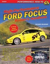 High Performance Ford Focus Builder's Handbook (Paperback or Softback)