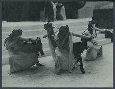 Syrakus Tanz der Emmeniden Antike Mythologie Rosalia Chladek Ausdruckstanz 1936
