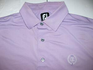 FOOTJOY FJ  purple Short Sleeve Golf Polo Shirt XL