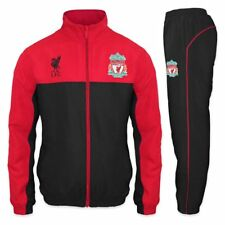 Liverpool FC Official Mens Tracksuit - Red/Black Small