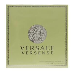 Versace Versense Womens Refreshing Bath & Shower Gel 200ml Boxed & Sealed