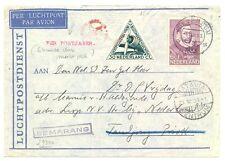 NEDERLAND  S.M.N. 1937-12-6  =MARNIX VAN ST.ALDEGONDE= AAN BEMANNING  FINE