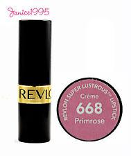REVLON Super Lustrous Lipstick Creme #668 PRIMROSE