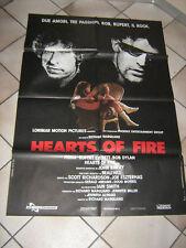 HEARTS OF FIRE,BOB DYLAN,EVERETT,STUDIO TESTA,MANIFESTO