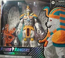 KING SPHINX POWER RANGERS MIGHTY MORPHIN LIGHTNING COLLECTION! NIB FREE SHIPPING