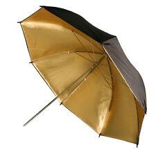 PBL Pro 43in Gold Black Umbrella Set of 2