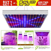 225 LED Grow Light Lamp Full Spectrum Hydroponic greenhouse Plant Bloom Indoor