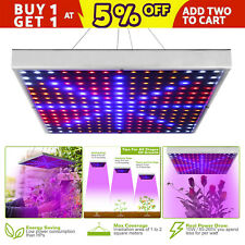 225 LED Grow Light Lamp Full Spectrum Hydroponic greenhouse Indoor Plant Bloom