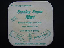 SUNDAY SUPER MART BROKEN HILL LEGION CLUB LIMITED COASTER