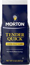 Morton Tender Quick Meat Cure, 2 lbs, (32 oz),  New FREE SAME DAY SHIPPING!!