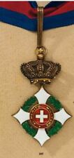 Military Order of Savoy Commander's Neck Badge -Rare