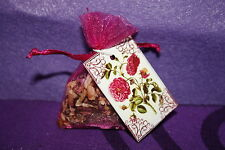 """Draw my true love to me"" mini Carry Sachet - Perfect size to fit in your pocket"
