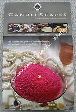 Candlescapes Wax Beads LIPSTICK PINK 15 oz No Mess Candle Free US Shipping