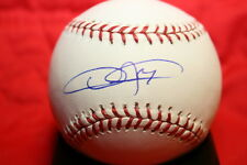 DEXTER FOWLER AUTOGRAPHED AUTO SIGNED COLORADO ROCKIES 20TH ANNIVERSARY BASEBALL