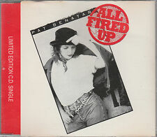 Pat Benatar CD-SINGLE ALL FIRED UP (c) 1988  LIMITED EDITION