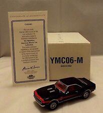 MATCHBOX COLLECTIBLES YMC06-M MUSCLE CAR Chevrolet Camaro SS 396 Model 1:43