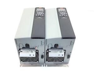 2x Danfoss FC-302P11KT5E20H1XGXXXXS... Frequenzumrichter Output 3x0-Vin 0-1000Hz