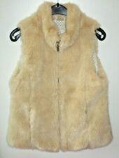 Zara Girls Fell - Imitat Weste in Gr. 152 edel kuschelig beige
