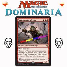 MTG TRASGO PORTACADENAS - Goblin Chainwhirler DOMINARIA ESPAÑOL MAGIC