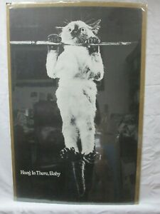 HANG IN THERE, BABY  VINTAGE POSTER GARAGE 1970'S  CNG75