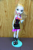 Monster High Lagoona Blue Doll w/ Clothes and Stand Mattel