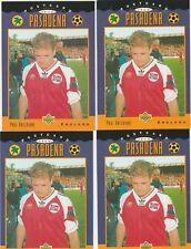 1994 Upper Deck World Cup  Contenders  #305 Paul Gascoigne 4 cd lot England