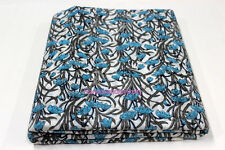 5 Yards soft Cotton Indian Fabric Sun Leaf Hand Block printed fabric Cambric SST