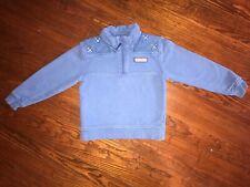 Vineyard Vines 6 yr boys Shep Shirt pullover 1/4 zip Neck sweater lacrosse Lax