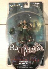 Batman Arkham City Series 2 Jervis Tetch Mad Hatter Action Figure MIP DC Direct