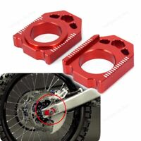 Motor Rear Chain Adjuster Axle Block for Honda CRF450R 450X CR250R CRF250R IS