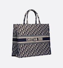 CHRISTIAN DIOR OBLIQUE BOOK TOTE WI