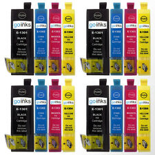 16 Ink Cartridges XL (Set) for Epson Stylus Office B42WD, BX625FWD, BX925FWD