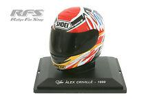 Casque-Alex Criville-shoei tête casquée-champion du monde 1999 - 1:5 Al 1999-ac-h25