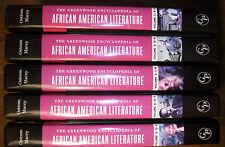 5 Volume HC set - The Greenwood Encyclopedia of African American Literature