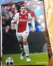Signiertes Foto Carel Eiting Ajax Amsterdam  NEU