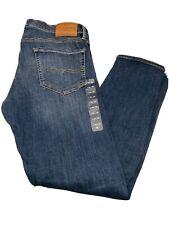 BNWT Mens Lucky Brand Jeans Pants 110 Skinny Blue 36x30
